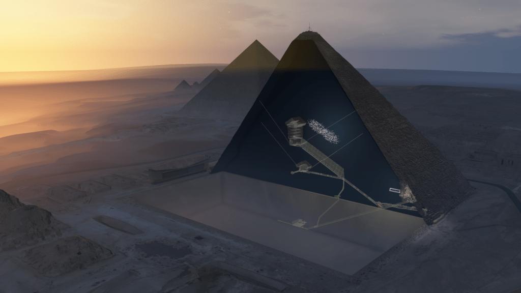 кухата пирамида в гиза