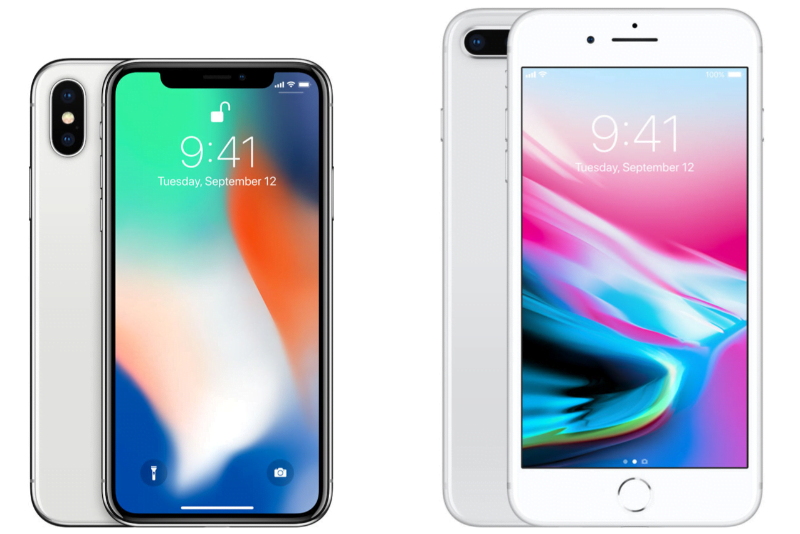 iphone x vs iphone 8 plus