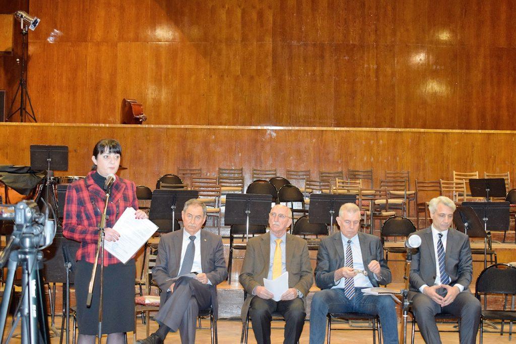 основен ремонт на Концертна зала в Пловдив